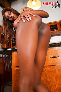 Mya has an amazing ass